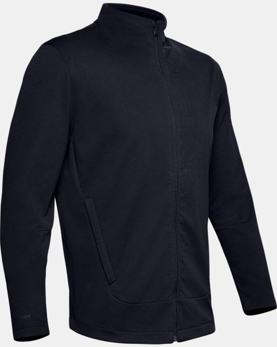 Men's UA Storm Full Zip, Black, pdpMainDesktop image number 3