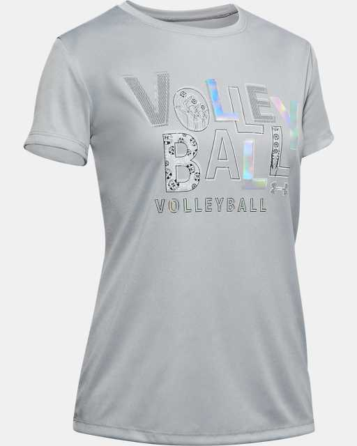 Girls' UA Volleyball Short Sleeve