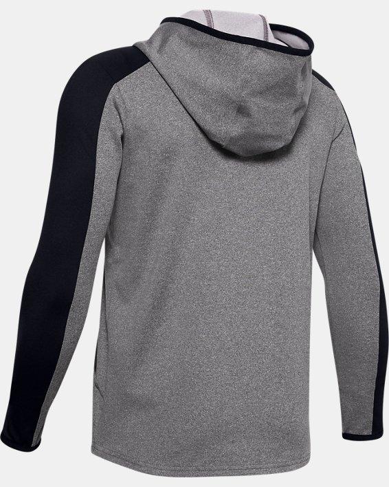Boys' ColdGear® ½ Zip, Black, pdpMainDesktop image number 1