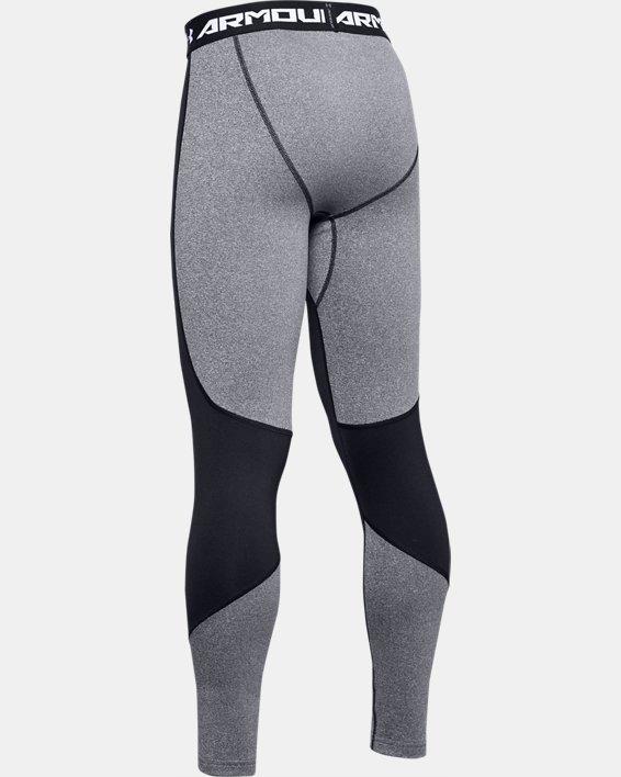 Boys' ColdGear® Leggings, Black, pdpMainDesktop image number 1