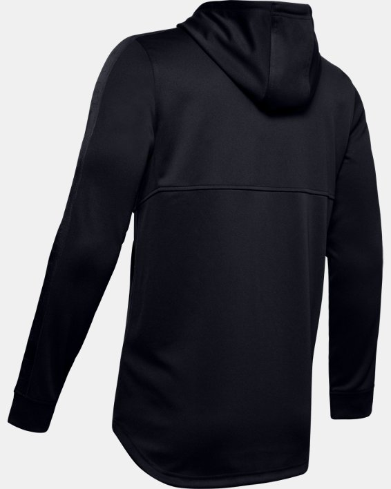 Men's UA Unstoppable Track Jacket, Black, pdpMainDesktop image number 5