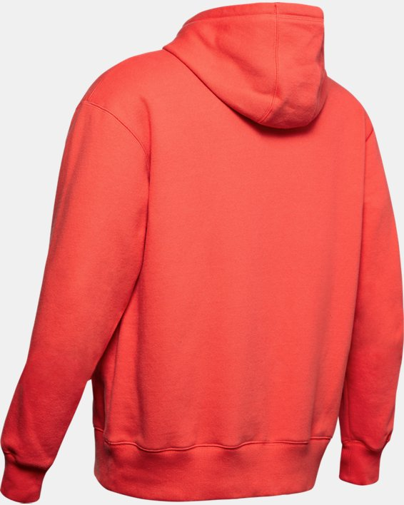 Sweat à capuche UA Performance Originators Fleece pour homme, Red, pdpMainDesktop image number 5