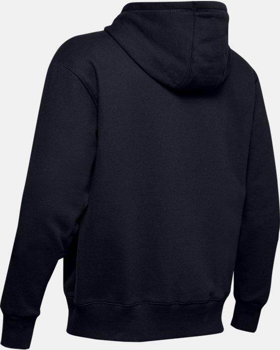 Haut UA Performance Originators Fleece Full Zip pour homme, Black, pdpMainDesktop image number 4