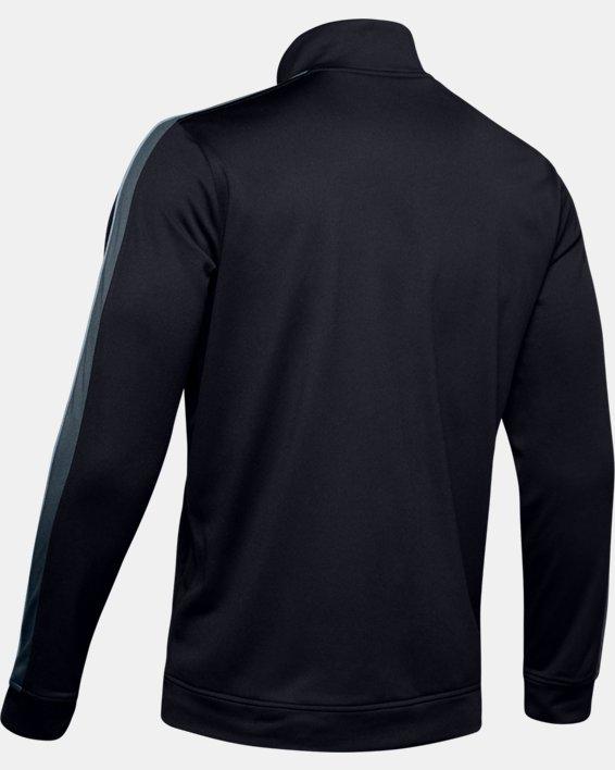 Men's UA Unstoppable Essential Track Jacket, Black, pdpMainDesktop image number 4