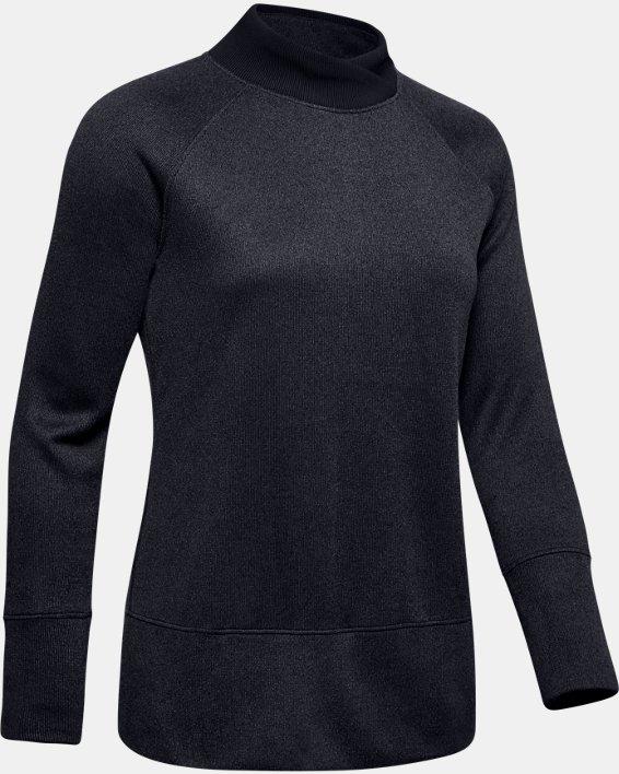 Women's UA Storm SweaterFleece, Black, pdpMainDesktop image number 3