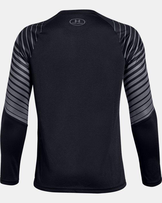 Boys' UA MK-1 Long Sleeve Shirt, Black, pdpMainDesktop image number 1