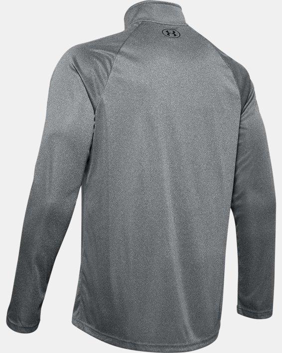 Men's UA Velocity 2.0 ½ Zip, Gray, pdpMainDesktop image number 5