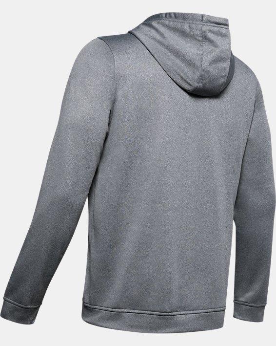 Men's Armour Fleece® Graphic Hoodie, Gray, pdpMainDesktop image number 5