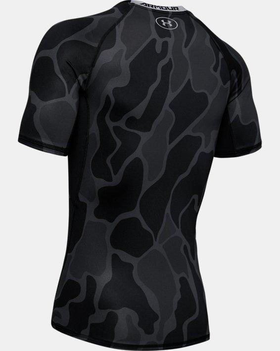 T-shirt à manches courtes HeatGear® Armour pour homme, Black, pdpMainDesktop image number 5
