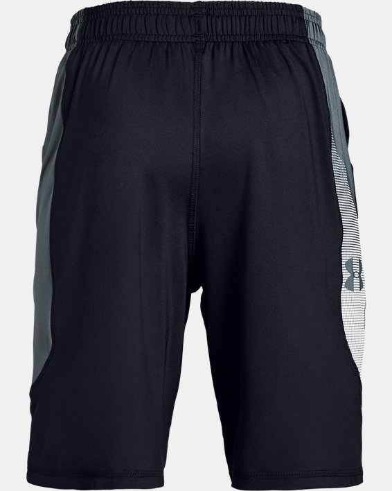 Boys' UA Raid Shorts, Black, pdpMainDesktop image number 1