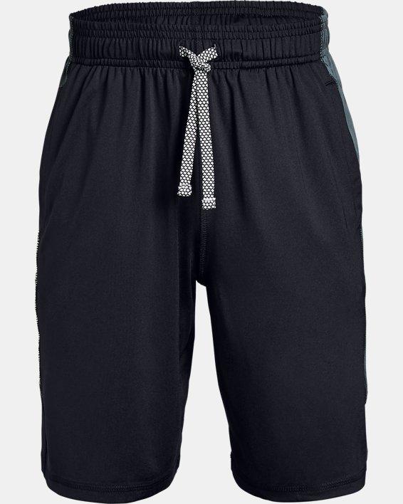 Boys' UA Raid Shorts, Black, pdpMainDesktop image number 0