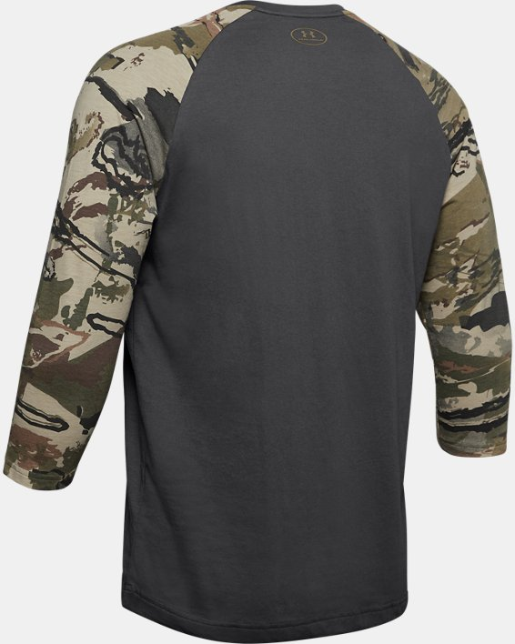 Men's UA Camo Sleeve Utility T, Gray, pdpMainDesktop image number 5