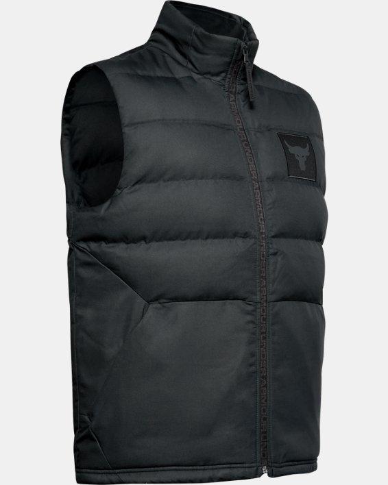 Men's Project Rock Vest, Black, pdpMainDesktop image number 3