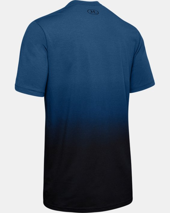Men's Project Rock Bull Graphic Short Sleeve, Blue, pdpMainDesktop image number 5