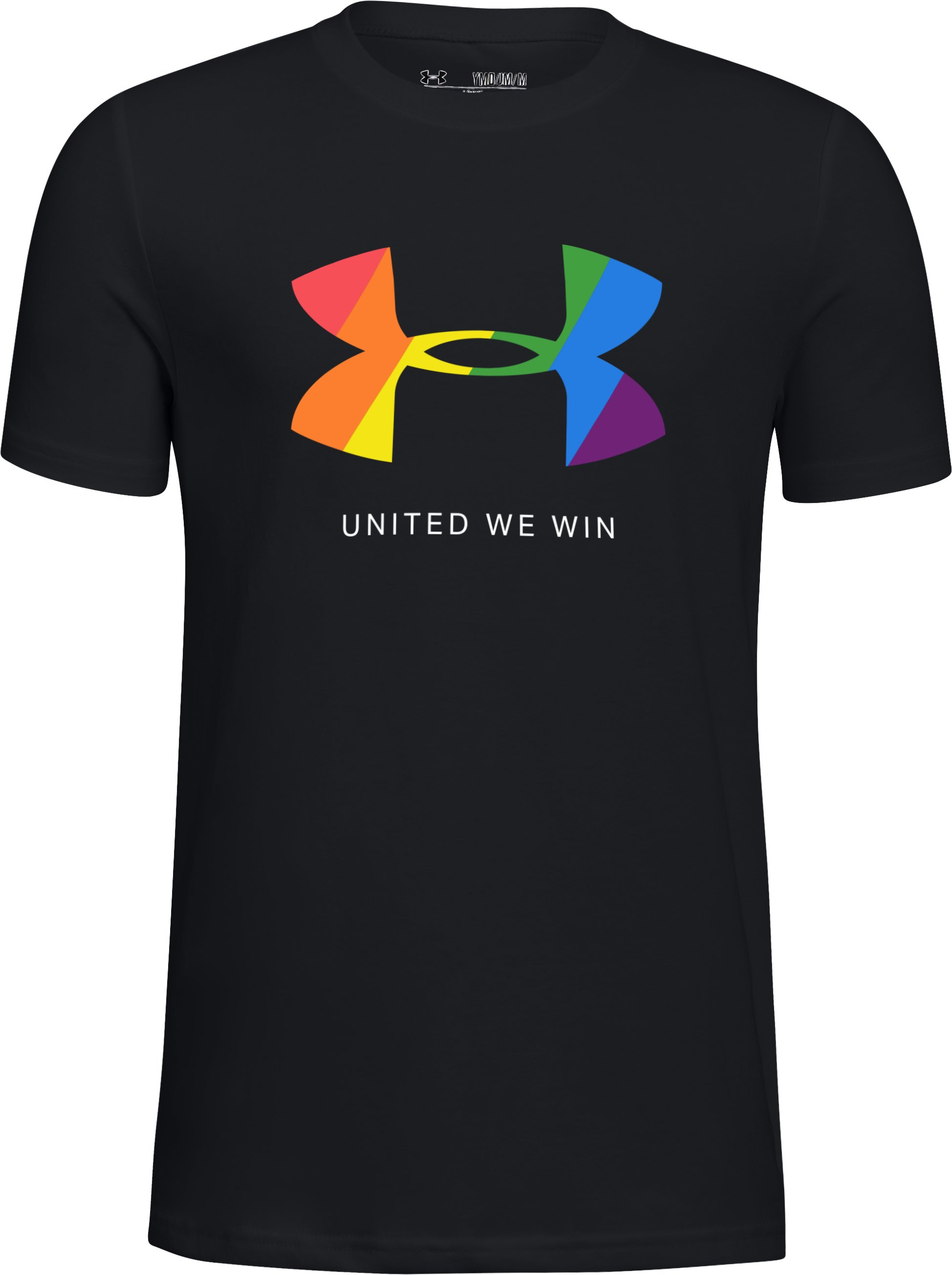 Kids' UA Pride Short Sleeve T-Shirt 1 Color $25.00