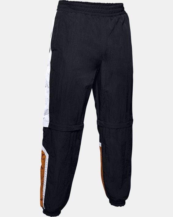 Men's UA Always On Recovery Windbreaker Pants, Black, pdpMainDesktop image number 3