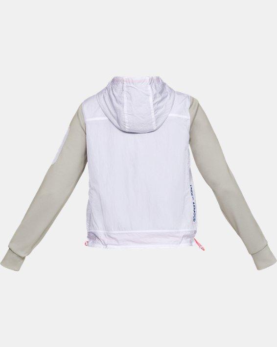 Women's UA Always On Recovery Swacket, White, pdpMainDesktop image number 5