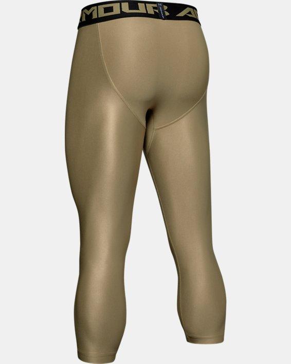 Leggings HeatGear® Armour Graphic 3/4 pour homme, Green, pdpMainDesktop image number 5