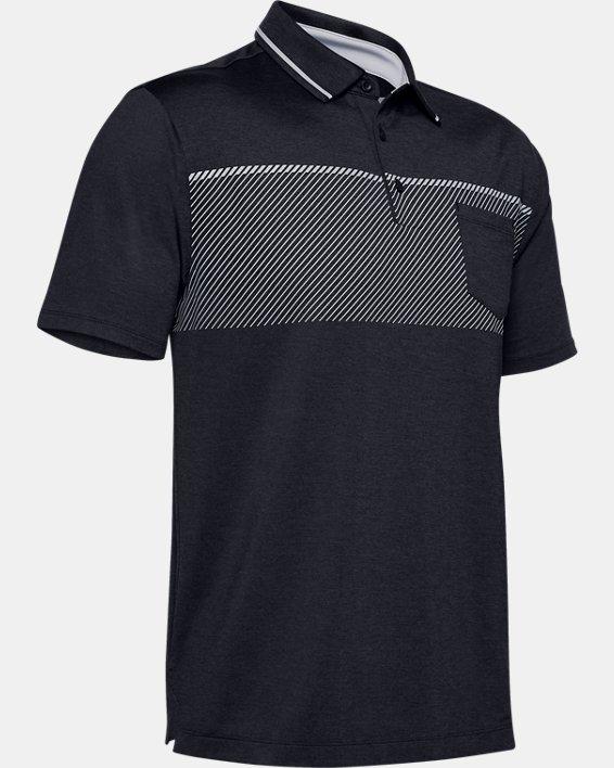 Men's UA Playoff Pocket Polo, Black, pdpMainDesktop image number 4