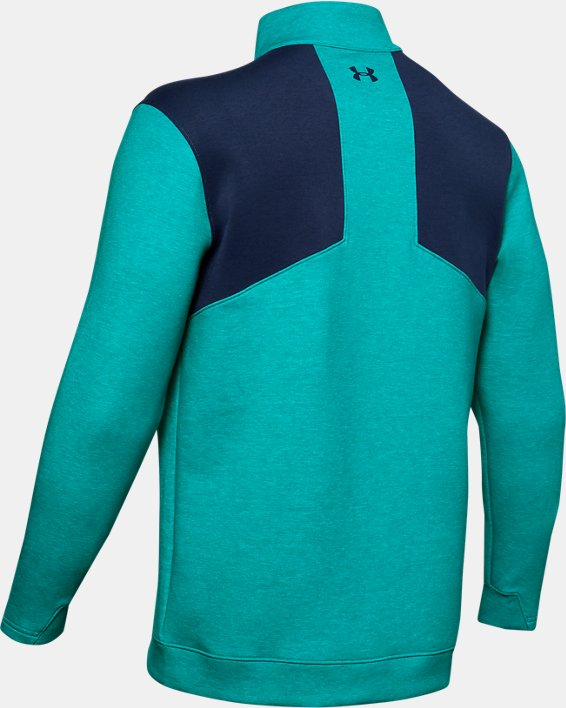 Men's UA Storm Playoff ½ Zip, Green, pdpMainDesktop image number 5