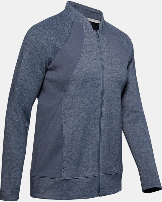 Women's UA Golf Layer Jacket, Gray, pdpMainDesktop image number 4