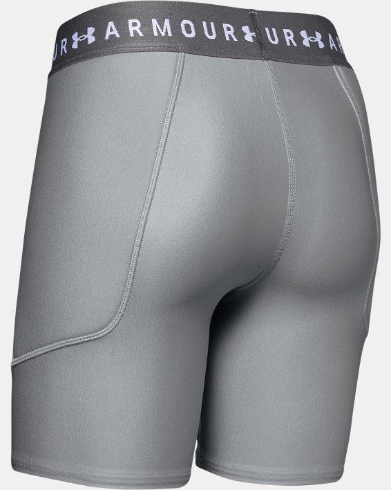 Women's UA Softball Slider Shorts, Gray, pdpMainDesktop image number 5