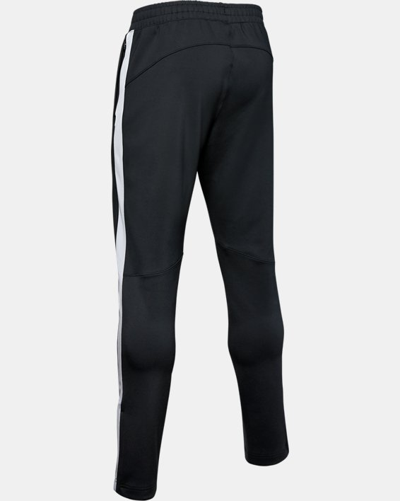 Men's Project Rock Track Pants, Black, pdpMainDesktop image number 4