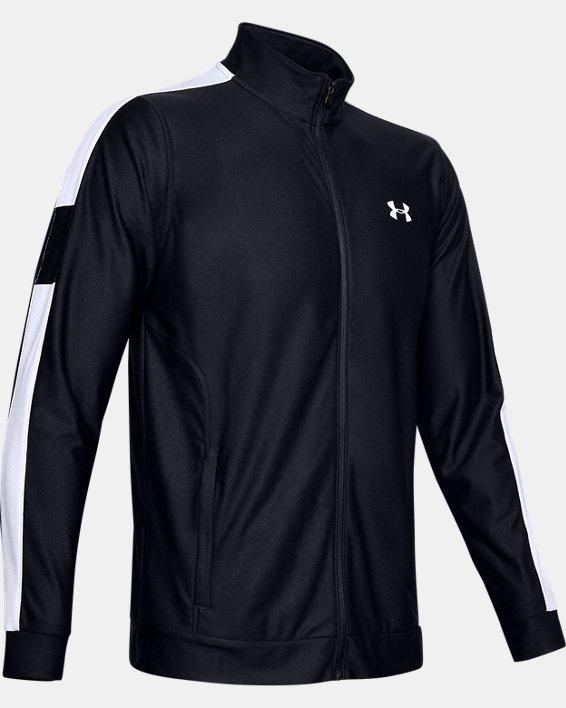 Men's UA Twister Jacket, Black, pdpMainDesktop image number 4