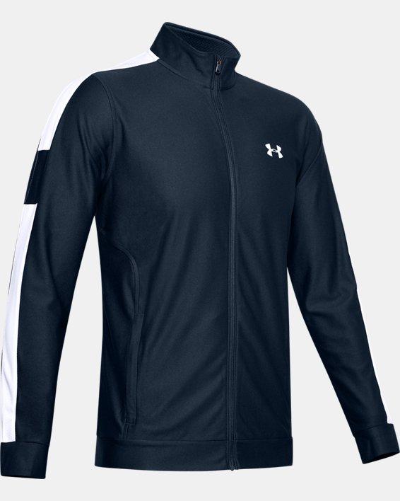 Men's UA Twister Jacket, Navy, pdpMainDesktop image number 4
