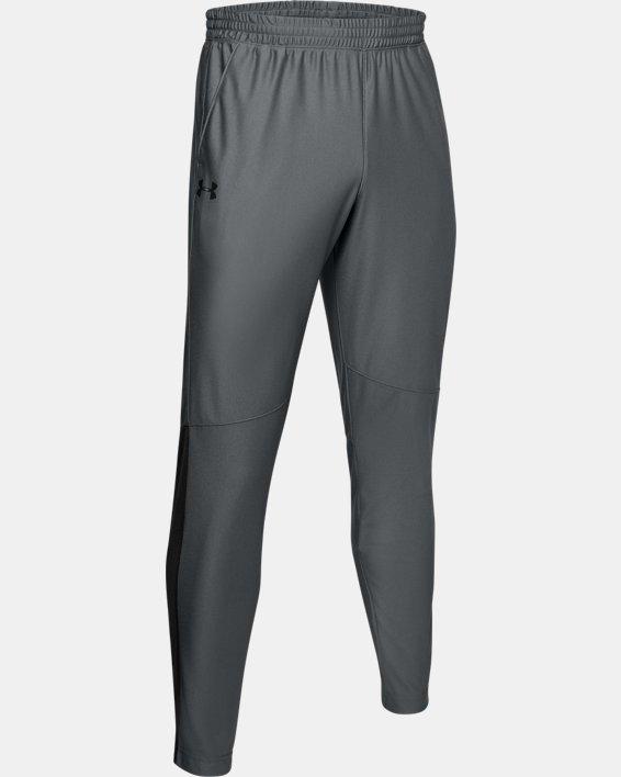 Men's UA Twister Pants, Gray, pdpMainDesktop image number 3
