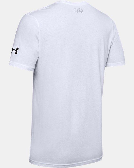 Men's UA Shot Maker T-Shirt, White, pdpMainDesktop image number 5