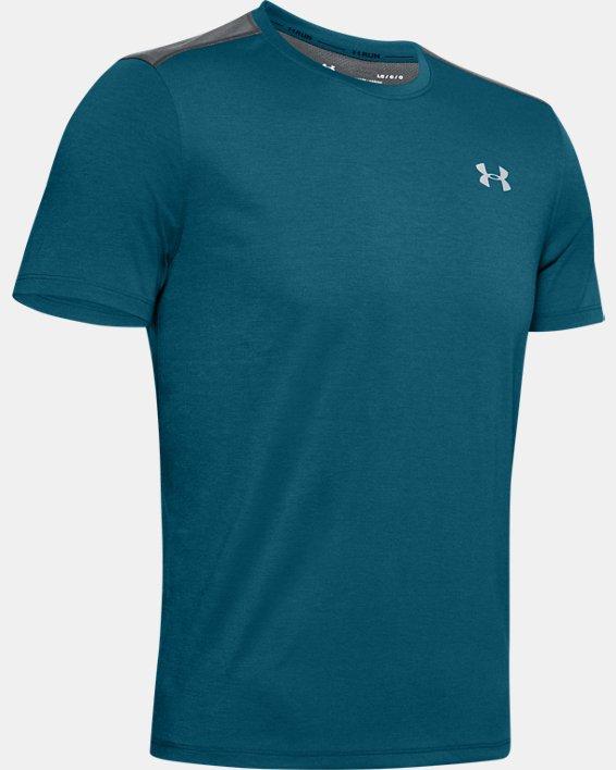 Men's UA Swyft Short Sleeve, Green, pdpMainDesktop image number 4