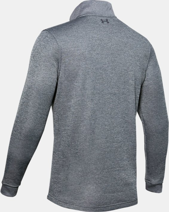 Men's UA Storm SweaterFleece ¼ Zip, Gray, pdpMainDesktop image number 5