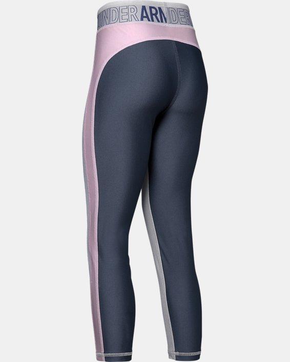 Girls' UA Infinity Ankle Crop, Gray, pdpMainDesktop image number 1