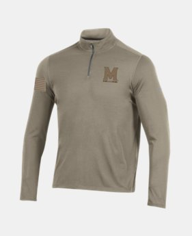 Men's UA Microthread ¼ Zip Collegiate  1  Color Available $42