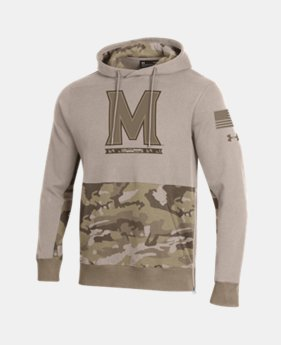 Men's UA Pursuit Collegiate Hoodie  1  Color Available $84