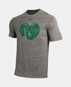 New Arrival Men's UA Tri-Blend Collegiate T-Shirt  1  Color Available $35