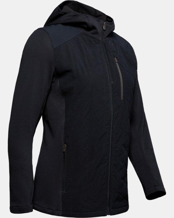 Women's ColdGear® Reactor Hybrid Lite Jacket, Black, pdpMainDesktop image number 3