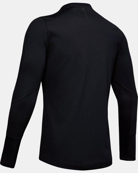 Men's UA RUSH™ ColdGear® Mock, Black, pdpMainDesktop image number 4