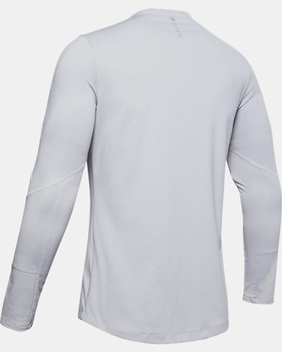Men's UA RUSH™ ColdGear® Mock, Gray, pdpMainDesktop image number 4