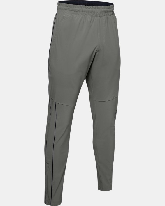 Men's UA RECOVER™ Woven Warm-Up Pants, Green, pdpMainDesktop image number 3