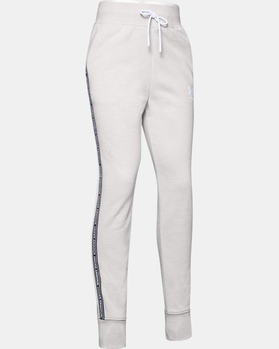 Pantalon UA Sportstyle Fleece pour fille, White, pdpMainDesktop image number 4