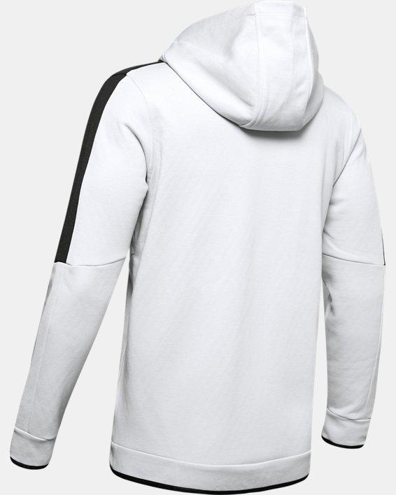 Men's UA RECOVER™ Fleece Full Zip, Gray, pdpMainDesktop image number 4