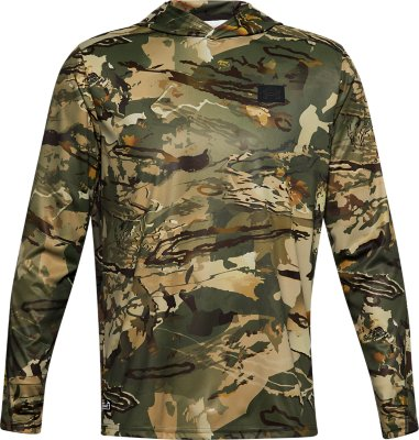 Under Armour Isochill Brush Line Hoodie Forest Camo XLARGE 1327542 Early Season
