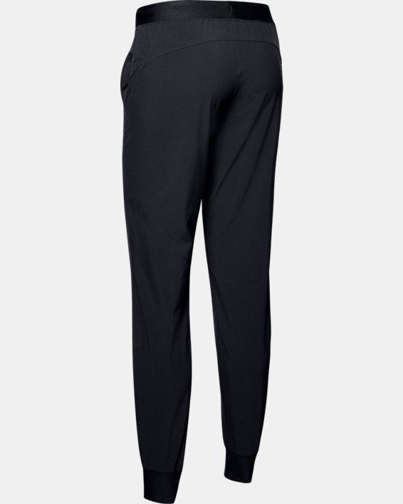Women's UA Armour Sport Woven Pants, Black, pdpMainDesktop image number 5