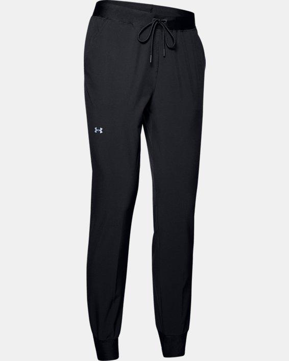 Women's UA Armour Sport Woven Pants, Black, pdpMainDesktop image number 4
