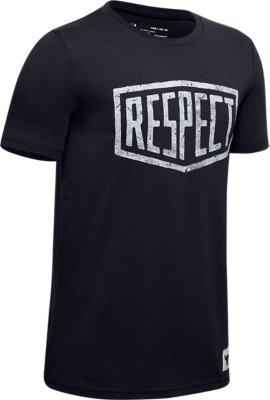 Under Armour X projet Rock Homme Respect T-shirt Graphique Rouge Top 1346096 661
