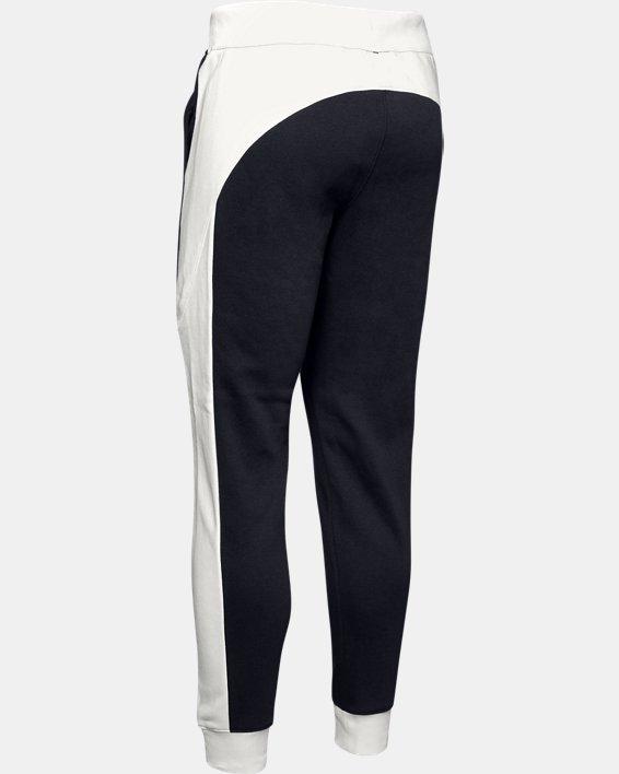 Women's UA Rival Fleece Graphic Novelty Pants, Black, pdpMainDesktop image number 5