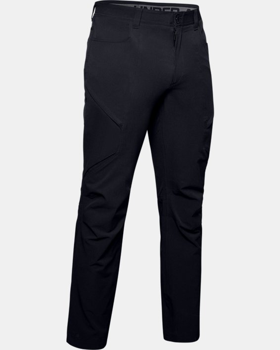 Men's UA Adapt Pants, Black, pdpMainDesktop image number 4