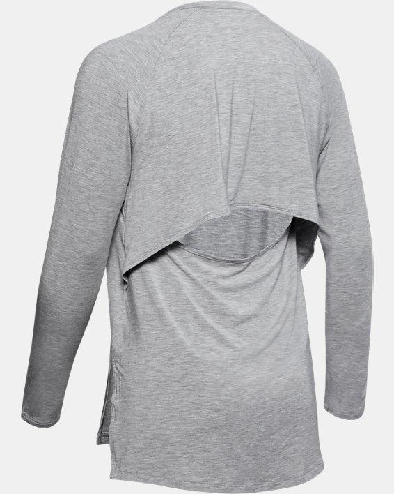 Women's UA Modal Long Sleeve, Gray, pdpMainDesktop image number 5